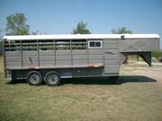 20' Livestock Trailer w/ Tack Rom