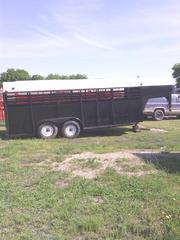 24' Overall Livestock Trailer