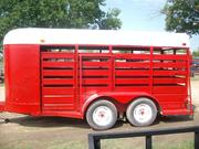 16' Cattle/Horse Trailer