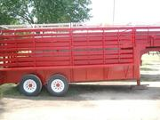 Double Decker Livestock Trailer