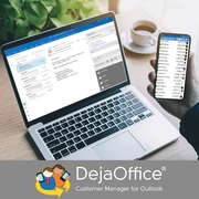 Replace Outlook Customer Manager (OCM) with DejaOffice PC CRM for Outl